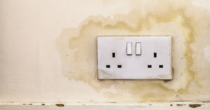 Check your socket and wiring in an old hdb flat